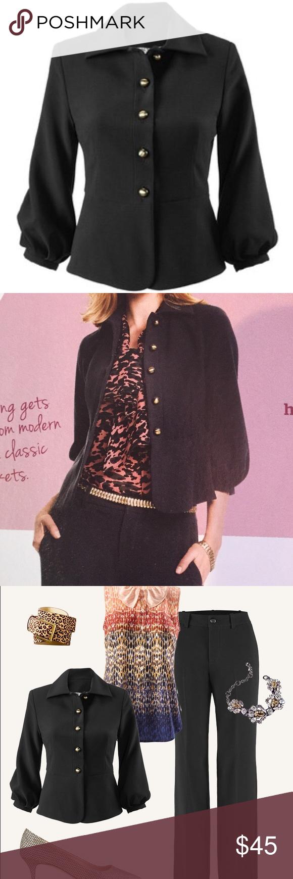 Cabi Abbott jacket, size 4 Fall 15 collection's Abbott jacket.  NWT Fully lined, gorgeous details. CAbi Jackets & Coats Blazers