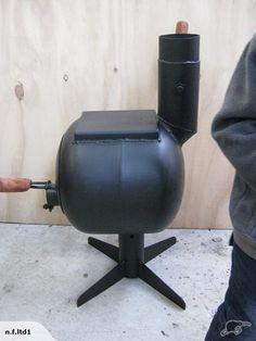 Repurposed Gas Bottle Fireplace Trade Me Gas Bottle Wood Burner Diy Wood Stove Wood Stove