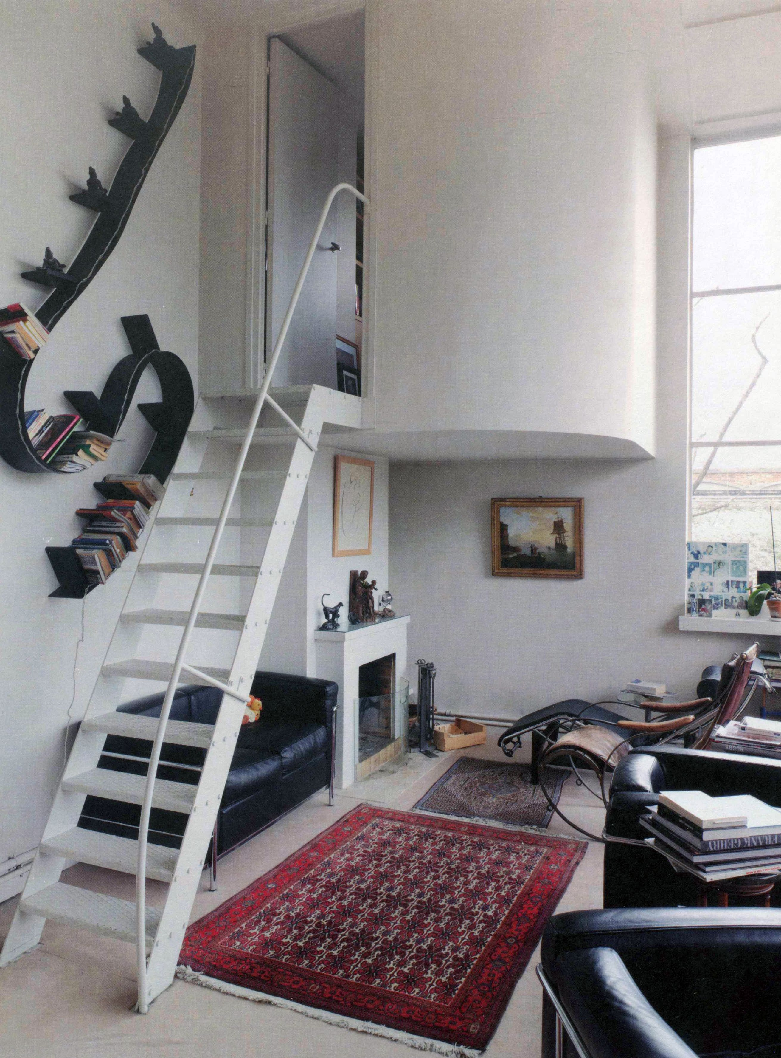 Maison Atelier Ozenfant Interior View