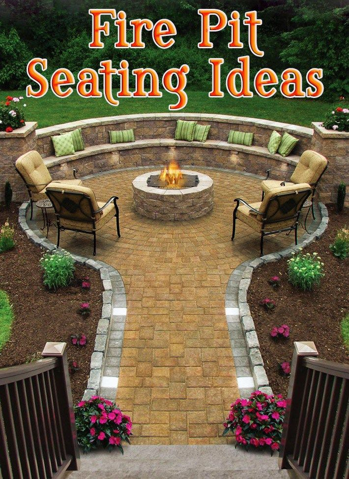 These Smashing Backyard Ideas Are Hot And Happening: Outdoor Fire Pit Seating Ideas