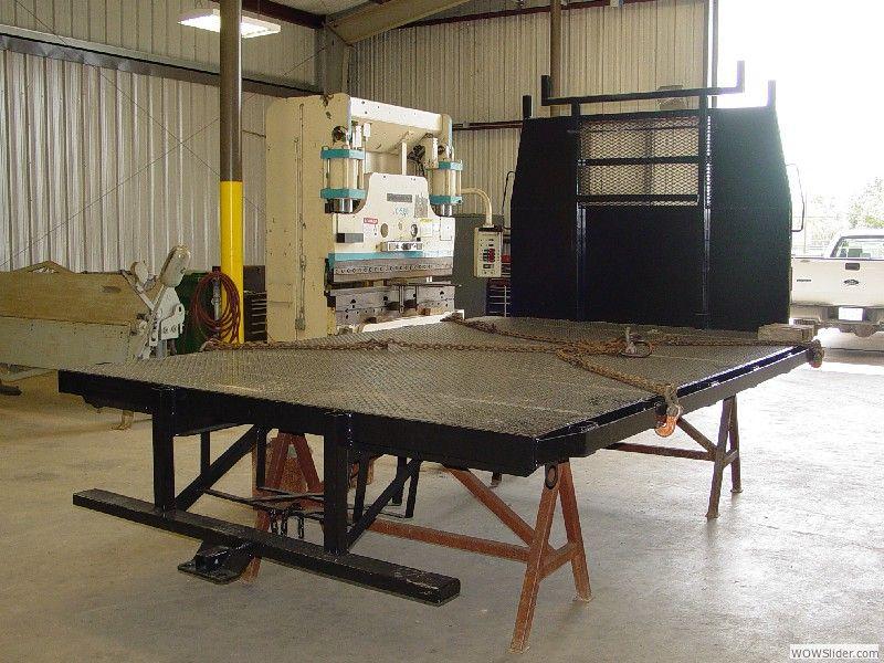 Plate & Sheet Metal (Truck Bed) Fabrication Cogbill
