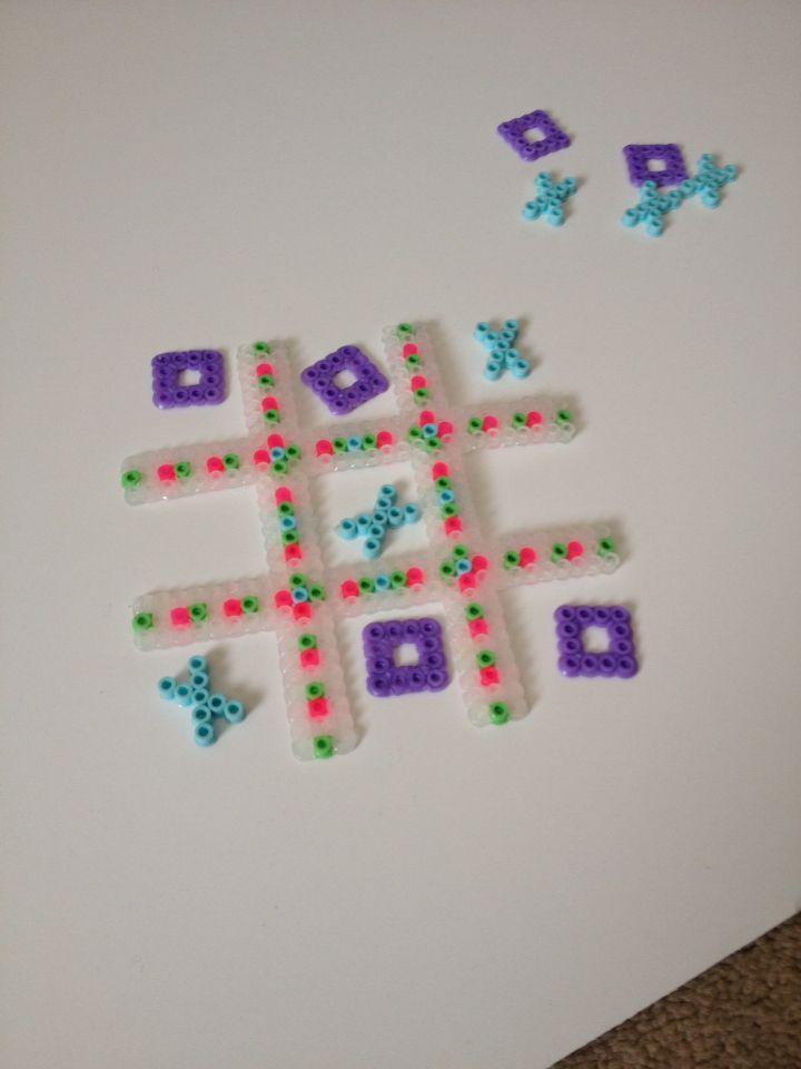Materials Perler Beads Wax Paper Iron Instructions 1 Make Tic Tac