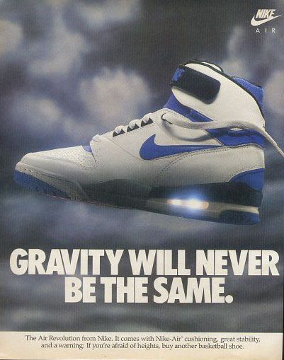 Www Bing Com1 Microsoft Way Redmond: A Vintage Ad For The Nike Air Max 2. Description From