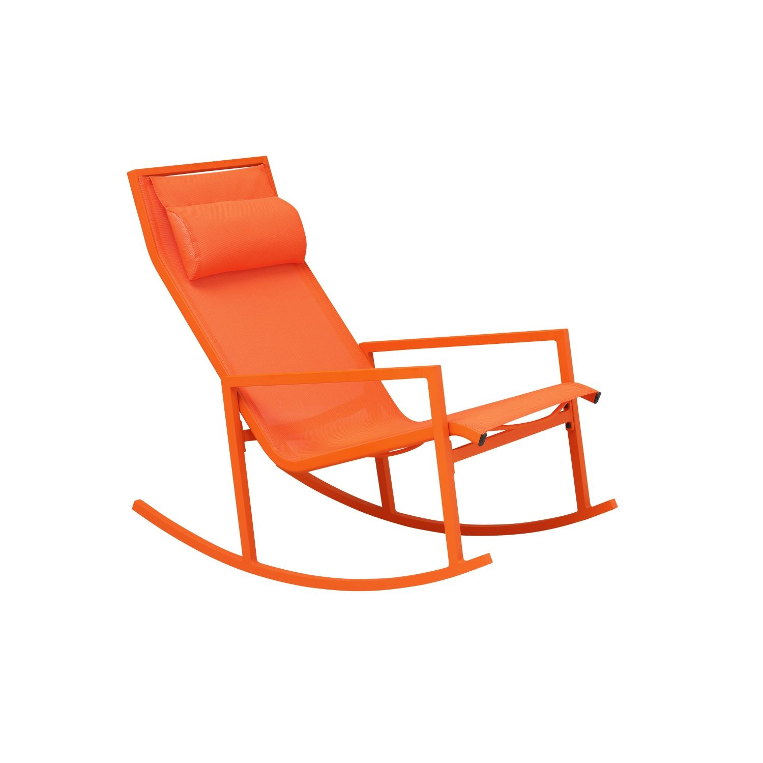Sandi Rocking Chair Orange