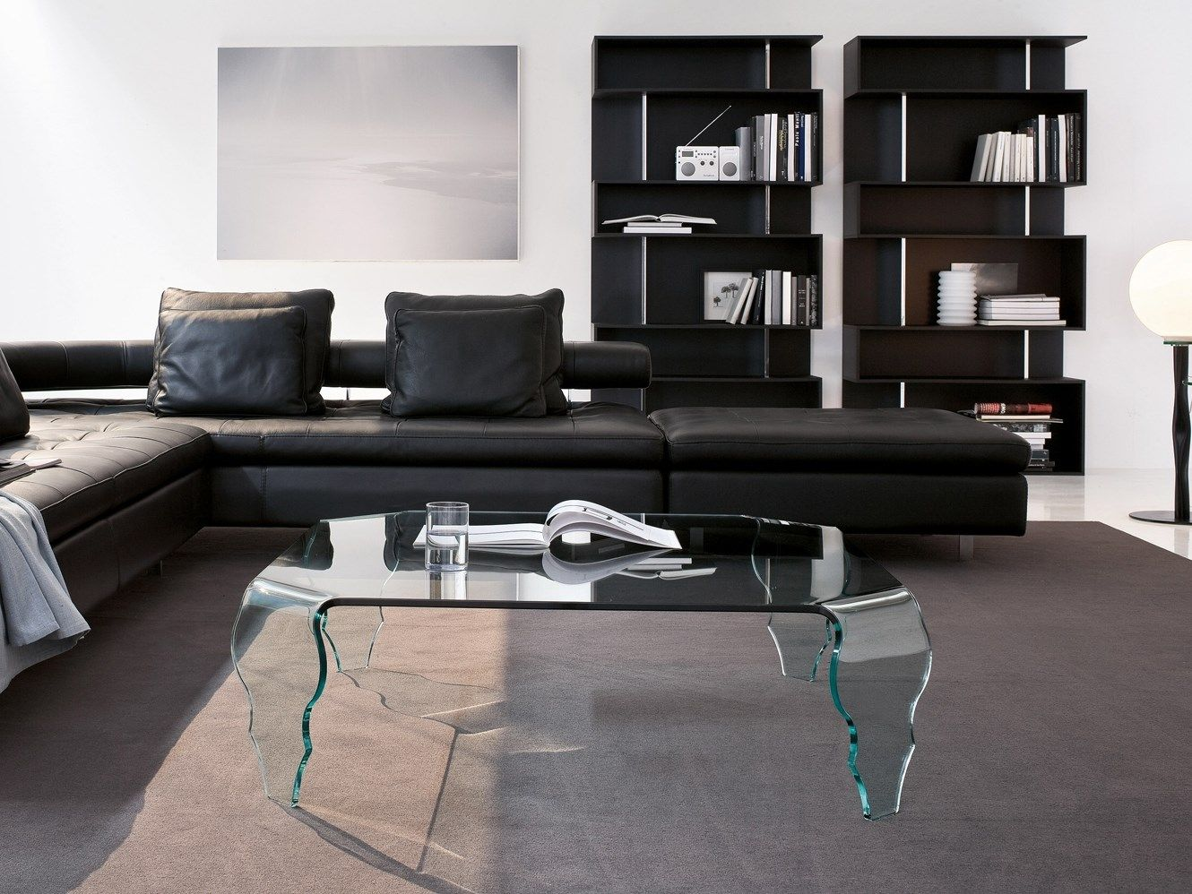 Glass coffee table in living room contemporary glass living room coffee table  ololoshenka  pinterest
