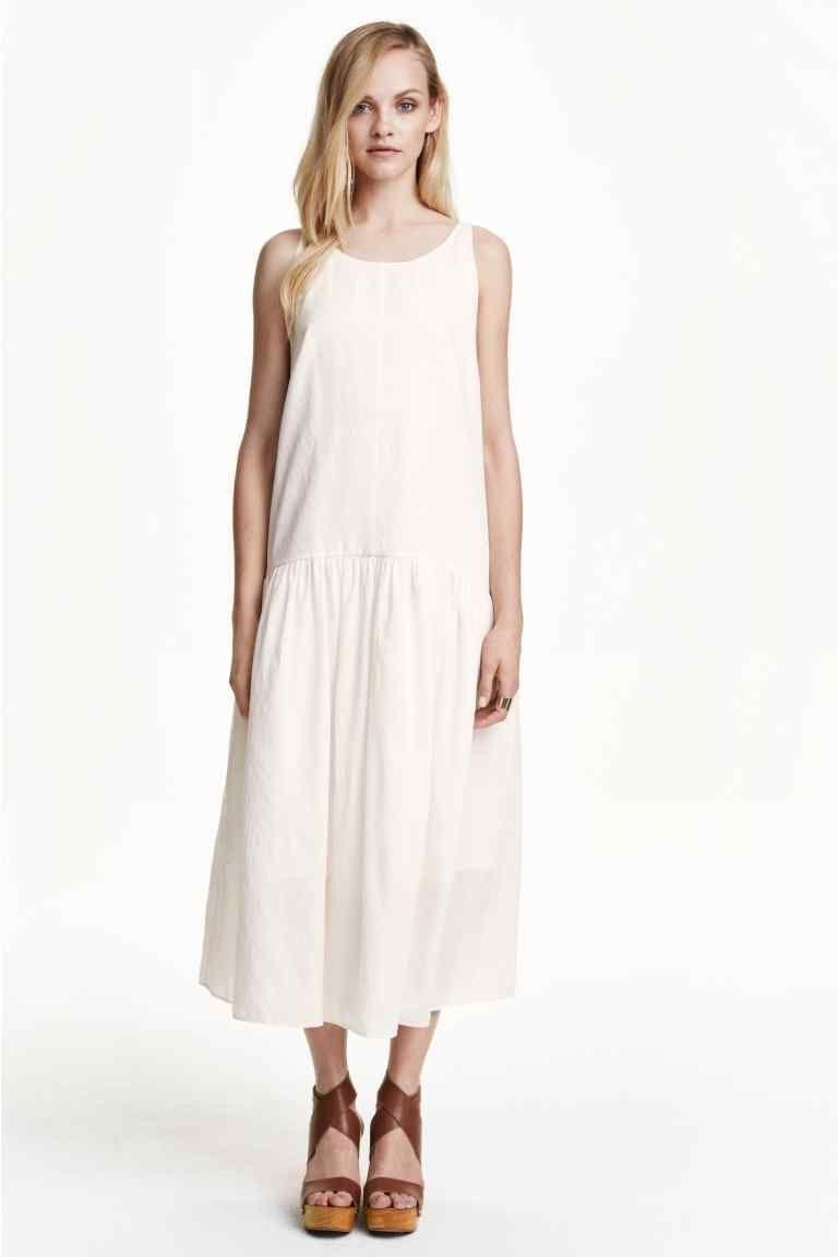 Mouwloze jurk | H&M | Mouwloze jurken, Jurken, Kleding