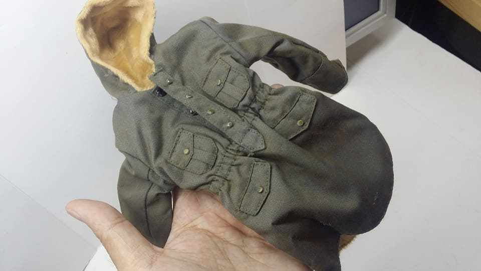"""1//6 Hot Custom Black Pant for 12/"""" Muscular Body use The Expendables Rambo toys"""