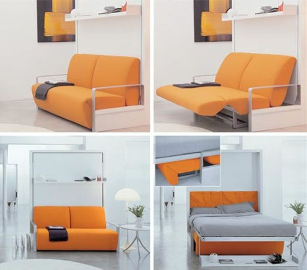 Comfort Wall Bed Compact Design  minimalist furnitures