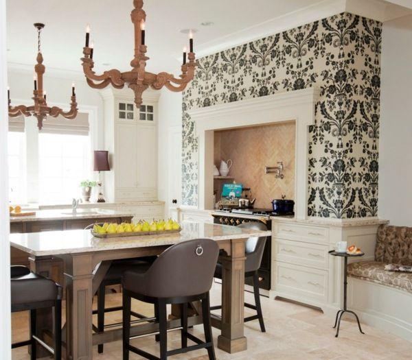 Kitchen Wallpaper Designs Taste Kitchen Wallpaper Design Kitchen Wall Design Country Kitchen Designs