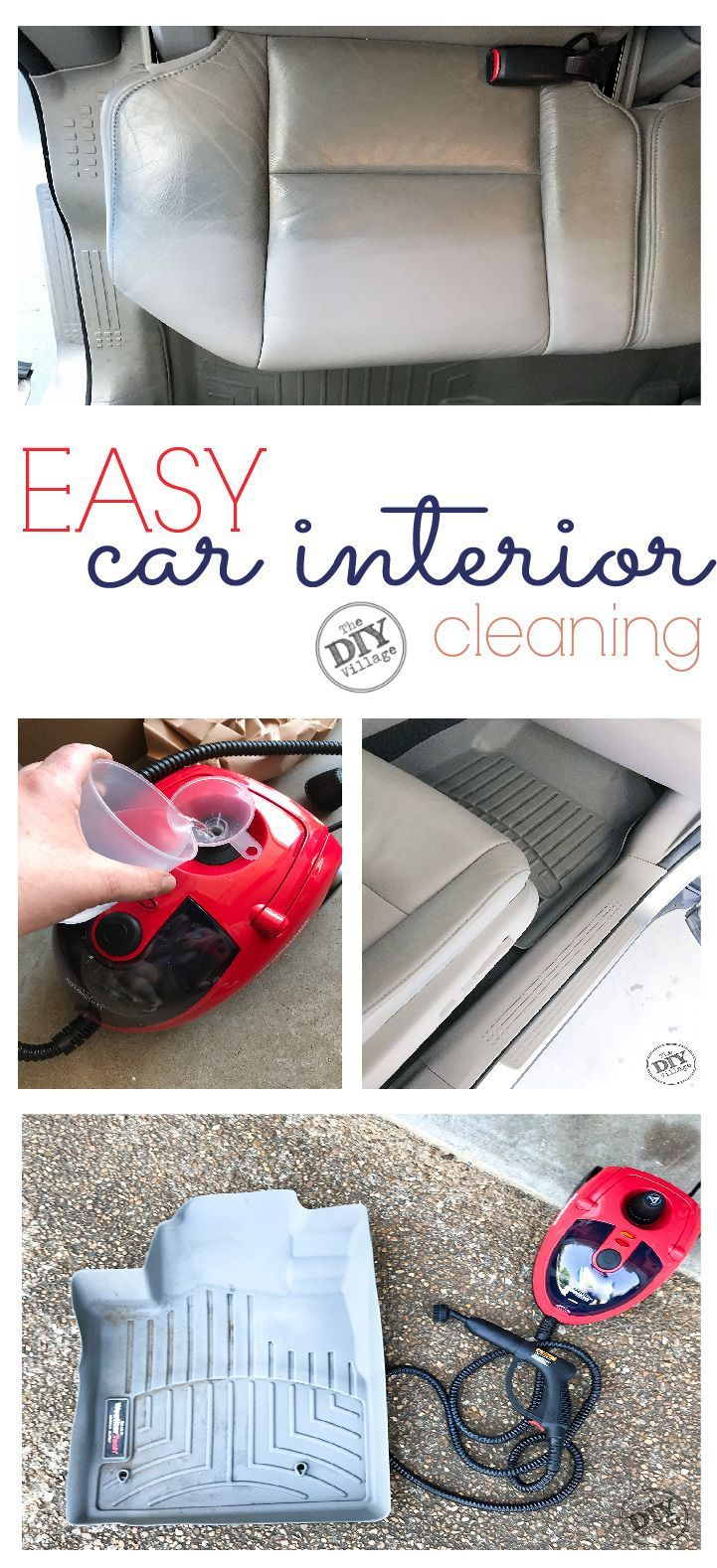Clean Car Interior the Quick Way #cleaningcars