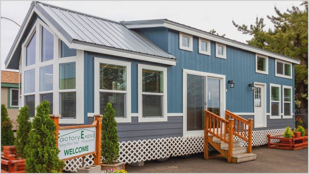 small 1 bedroom manufactured homes in wa in 2020  park