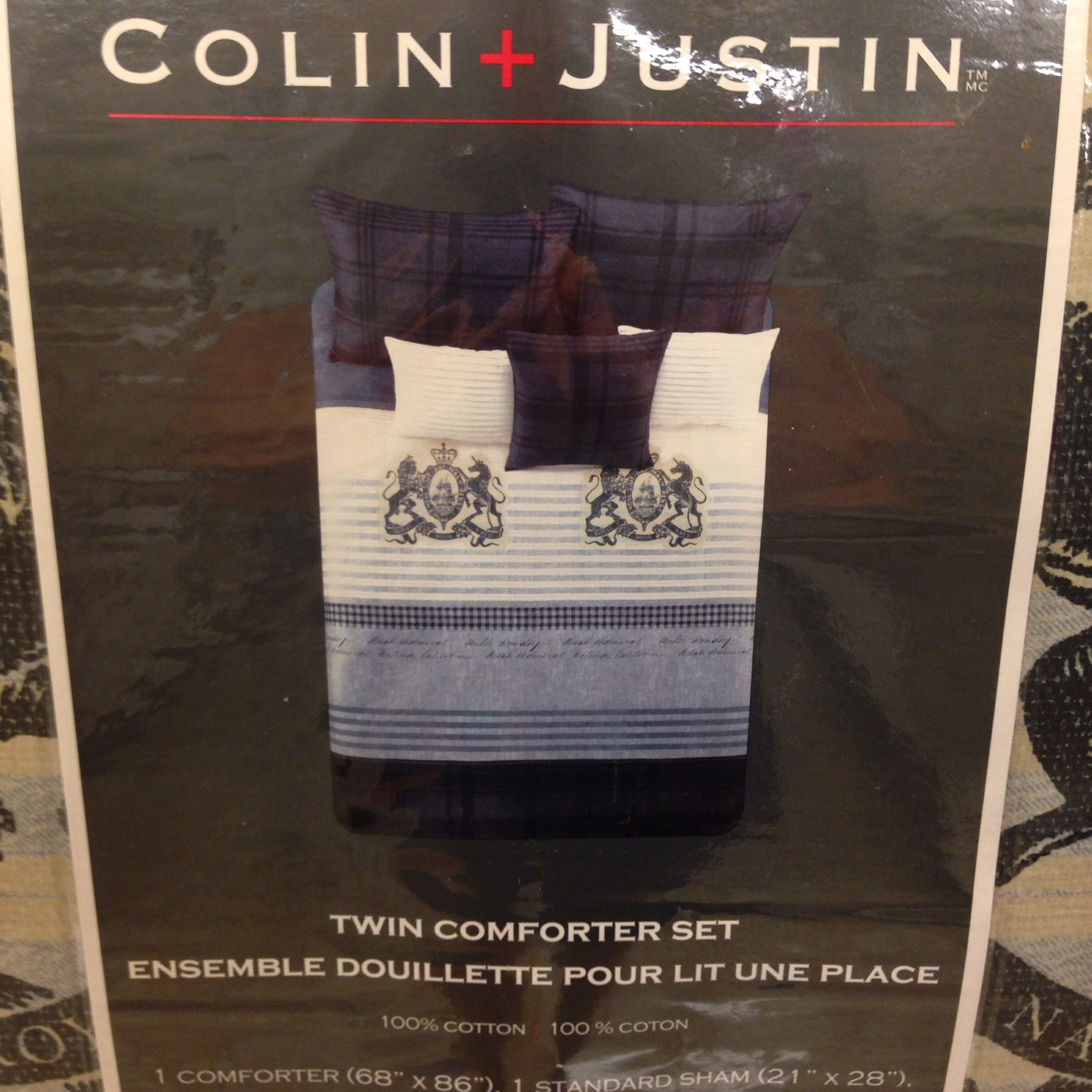 'Colin and Justin Home' bedding. | Bed, Justin