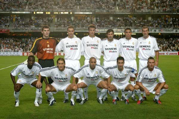 A Escalacao Do Meio Para Frente Do Real Madrid Era Conhecida Em Qualquer Canto Do Planeta E Real Madrid Champions League Ronaldo Fenomeno Equipe Real Madrid