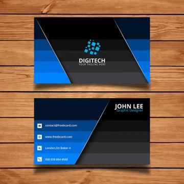 Business Card Template Design Vector Creative Modern Abstract Background Cards Illust Company Business Cards Business Cards Business Cards Collection
