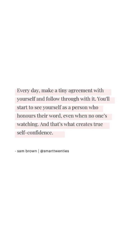 words of affirmation.