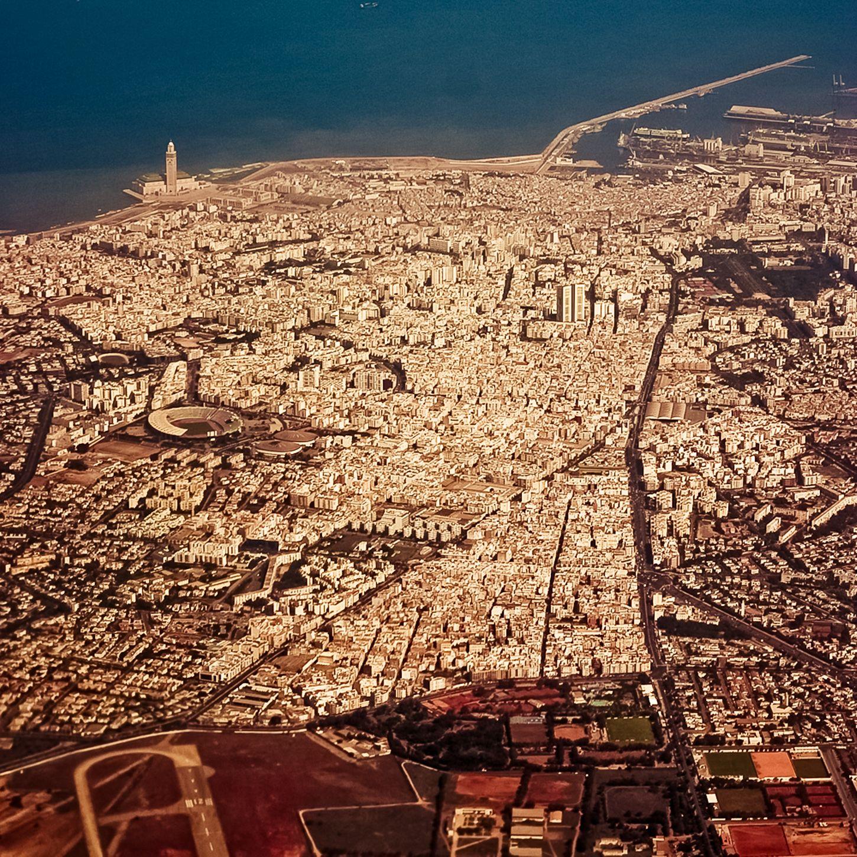 Casablanca morocco from above maroc d sert exp rience - Marocco casablanca ...