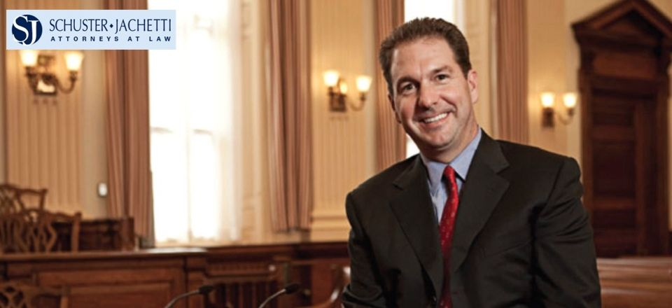 Delaware Personal Injury Lawyer Joseph Jachetti In His Office