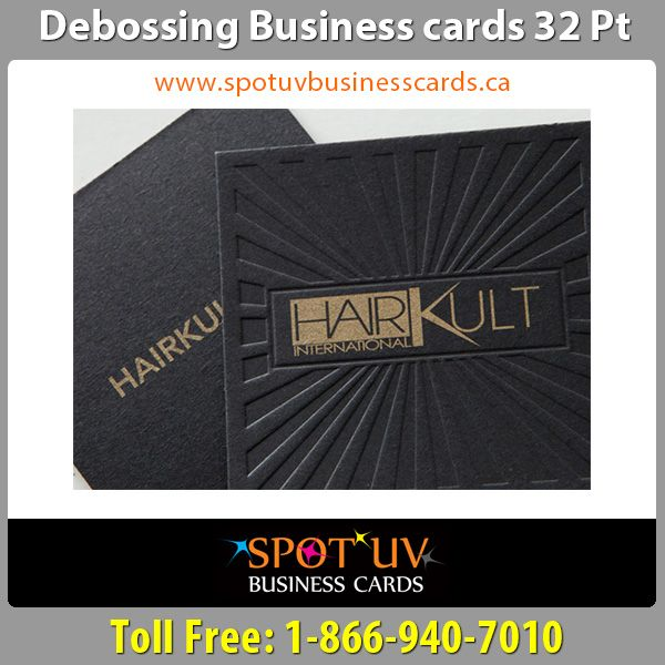 100 high quality debossing business cards in canada spot uv 100 high quality debossing business cards in canada reheart Images