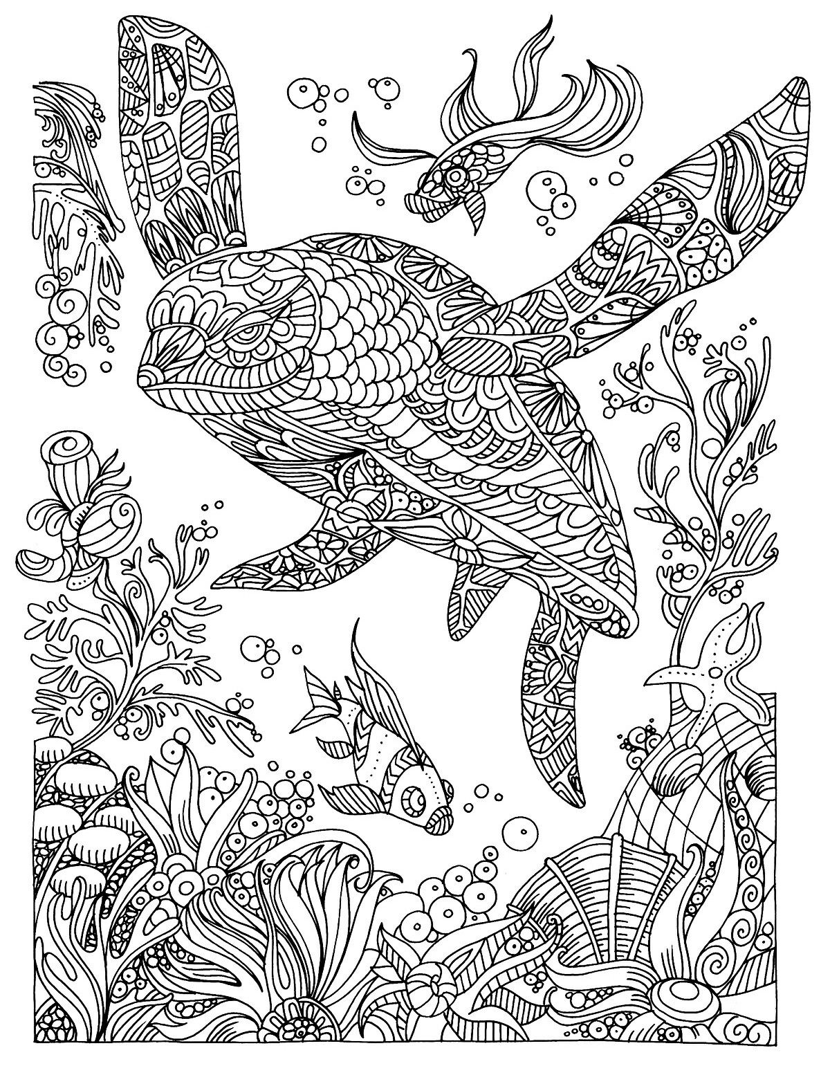 Pin By Hyeexpectations On Coloring Therapy Under The Sea Mandala Coloring Pages Relaxing Coloring Book Animal Coloring Pages [ 1541 x 1200 Pixel ]