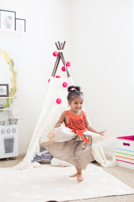 best website 29fb3 93dcd Our Playroom Reveal   Children's Style   Teepee nursery ...