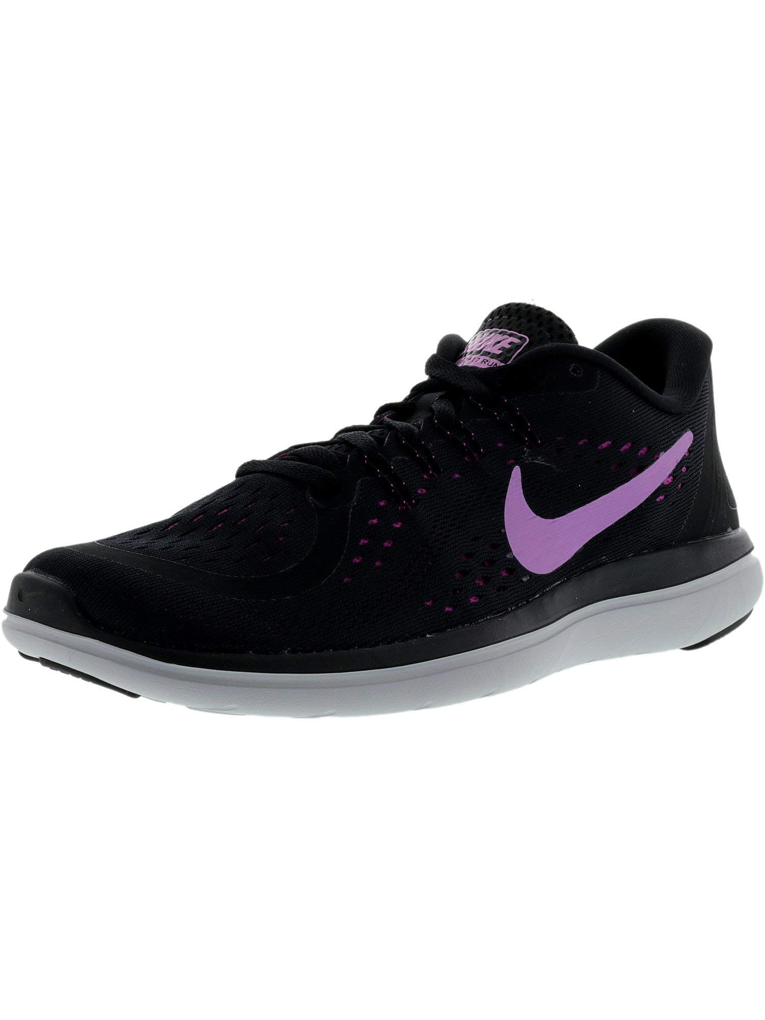 40bf7a50fe1b4 NIKE Womens Flex 2017 RN Running Shoe Black Fuchsia Glow Hyper Magenta Size  10 M US   Learn more by visiting the image link-affiliate link.
