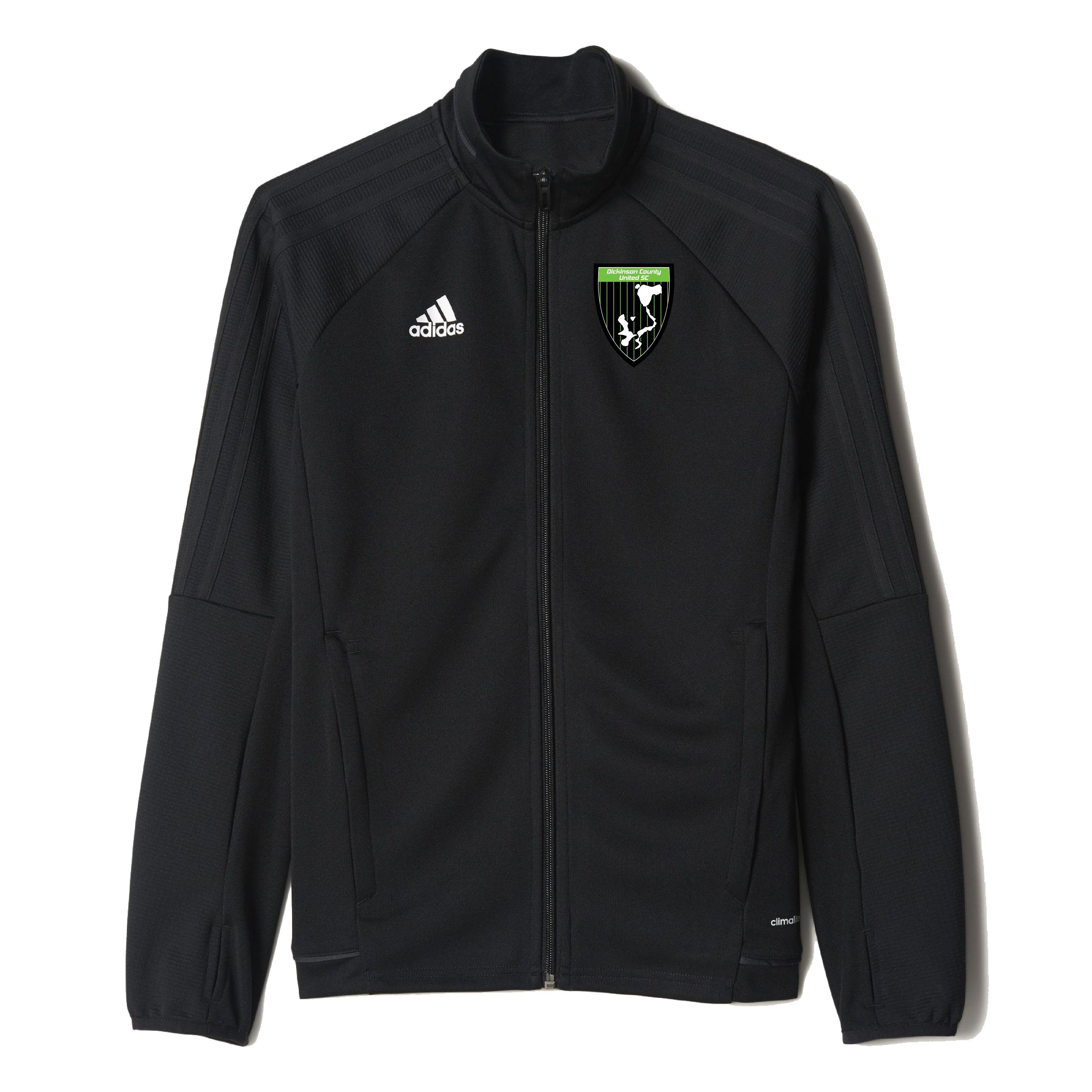 adidas Dickinson County Soccer Club Tiro 17 Training Jacket - Youth 0371b7d983