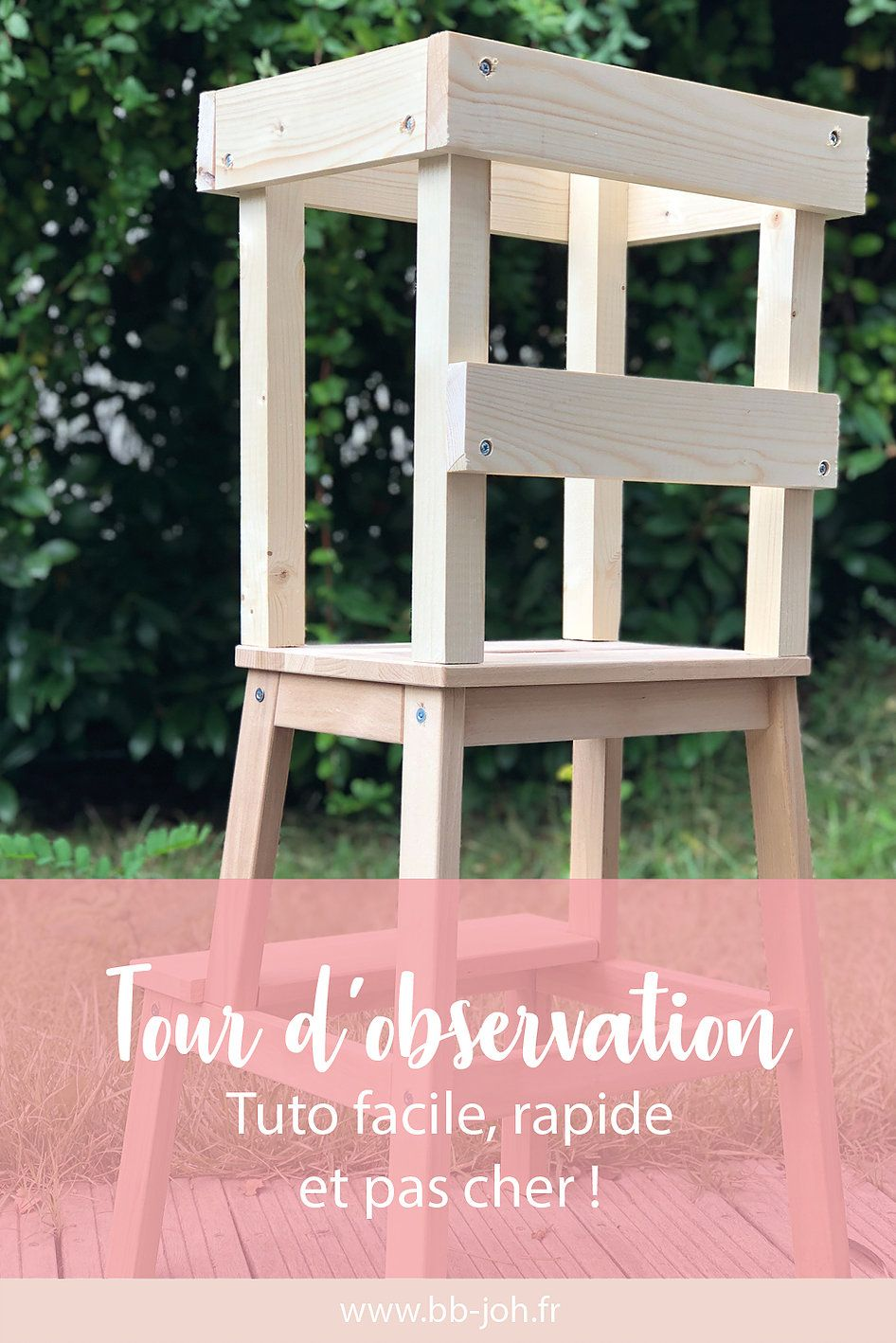 Parquet Flottant Ikea Pas Cher tuto : tour d'observation montessori rapide, facile et pas