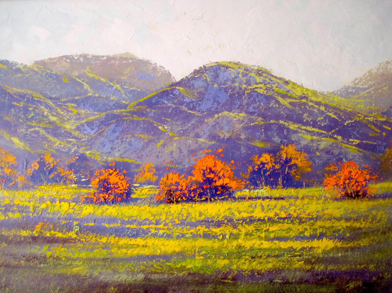 Impressionist Painting Original Oil Painting Landscape Etsy In 2020 Colorful Oil Painting Impressionist Paintings Oil Painting Landscape