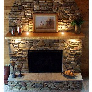 I Like This Mantel And The Lights In 2019 Home Fireplace