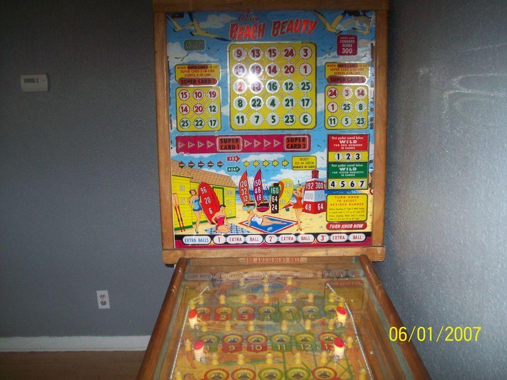 Bally gambling pinball machines funny gambling names
