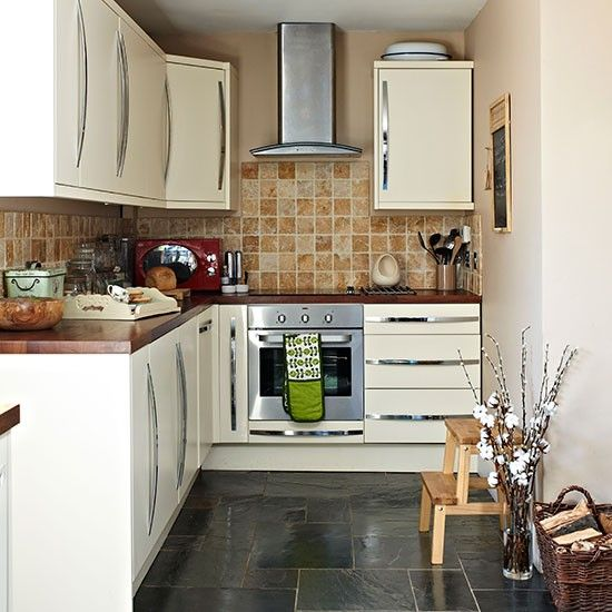 Kitchen Tiles Ideas Pictures Cream Units delonghi distinta eci341.w coffee machine | slate, traditional