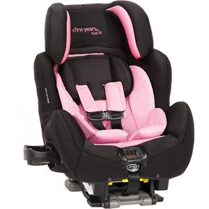The First Years True Fit SI C680 Convertible Car Seat Black And Pink