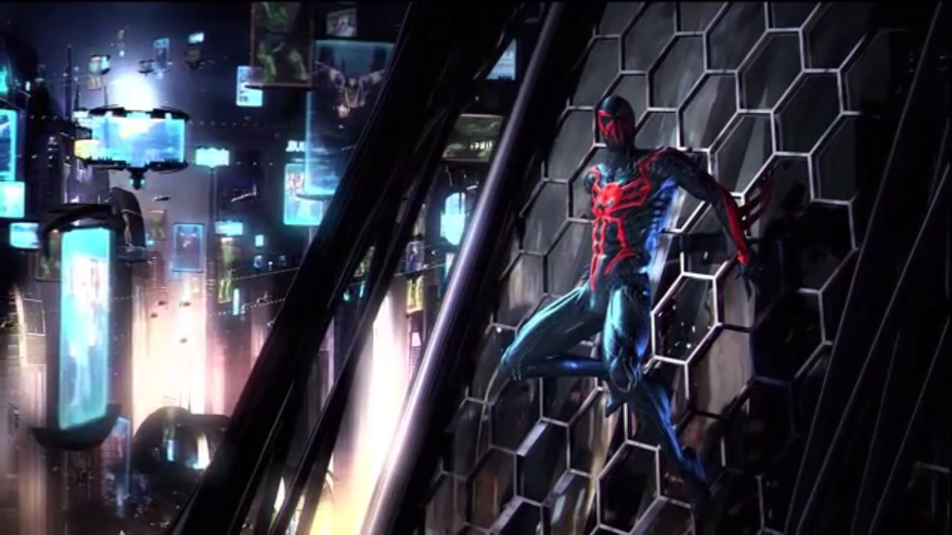 Future2099 spider man shattered dimensions spiderman