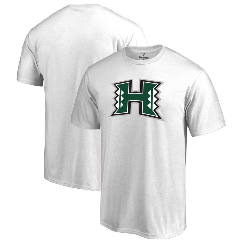 Hawaii Warriors Big & Tall Primary Logo T-Shirt - White