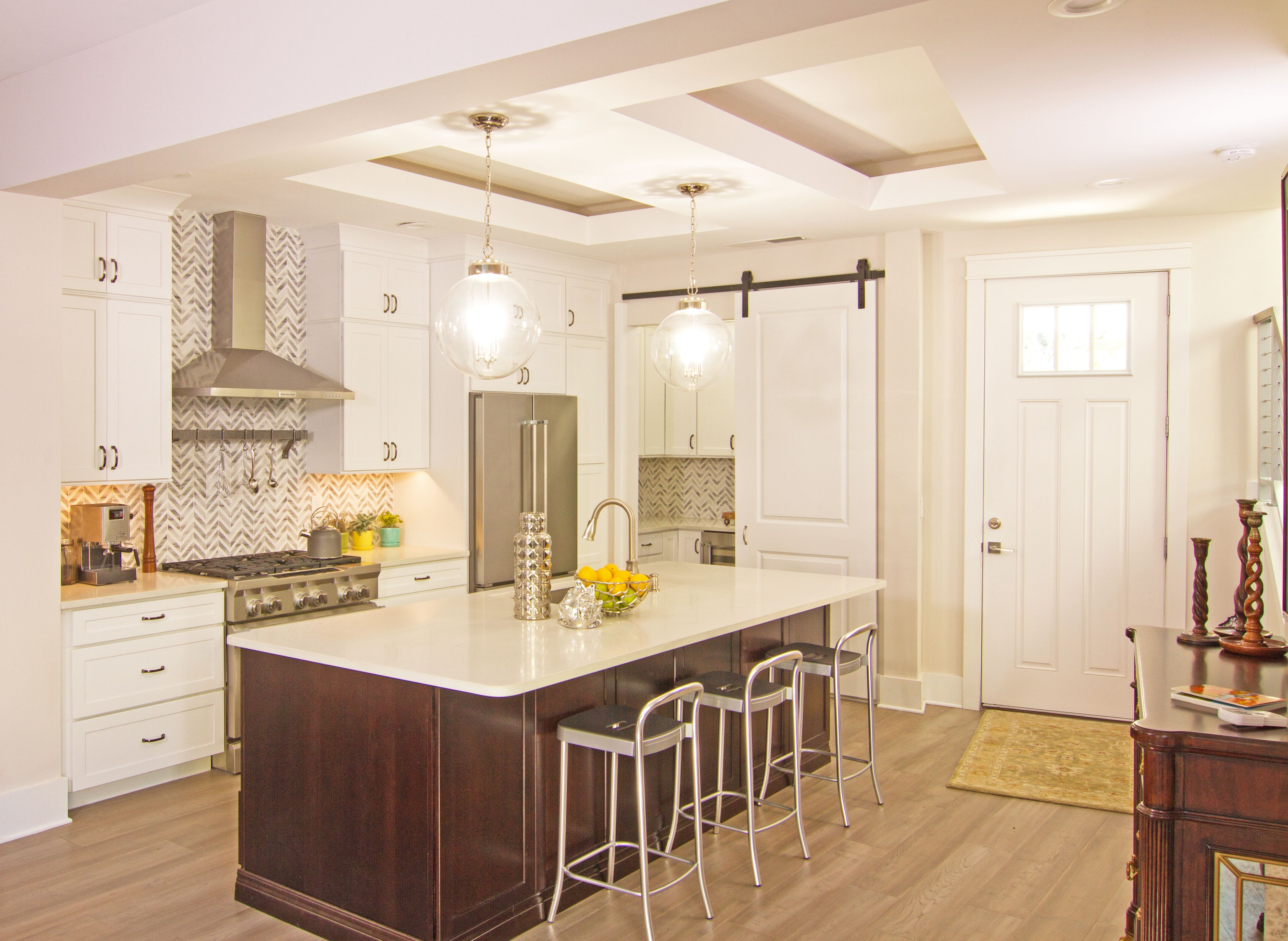Pin By Mccabinet Inc On Mccabinet Mcprojects Kitchen Nook Lighting Custom Cabinets Kitchen Nook