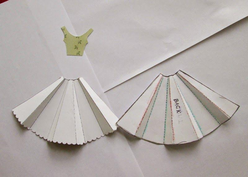 Открытка платье на 8 марта своими руками из оригами, днем рождения