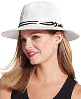 8ff59de10 Vince Camuto Knotted Robe Banded Panama Hat | Diva's Women Hats ...