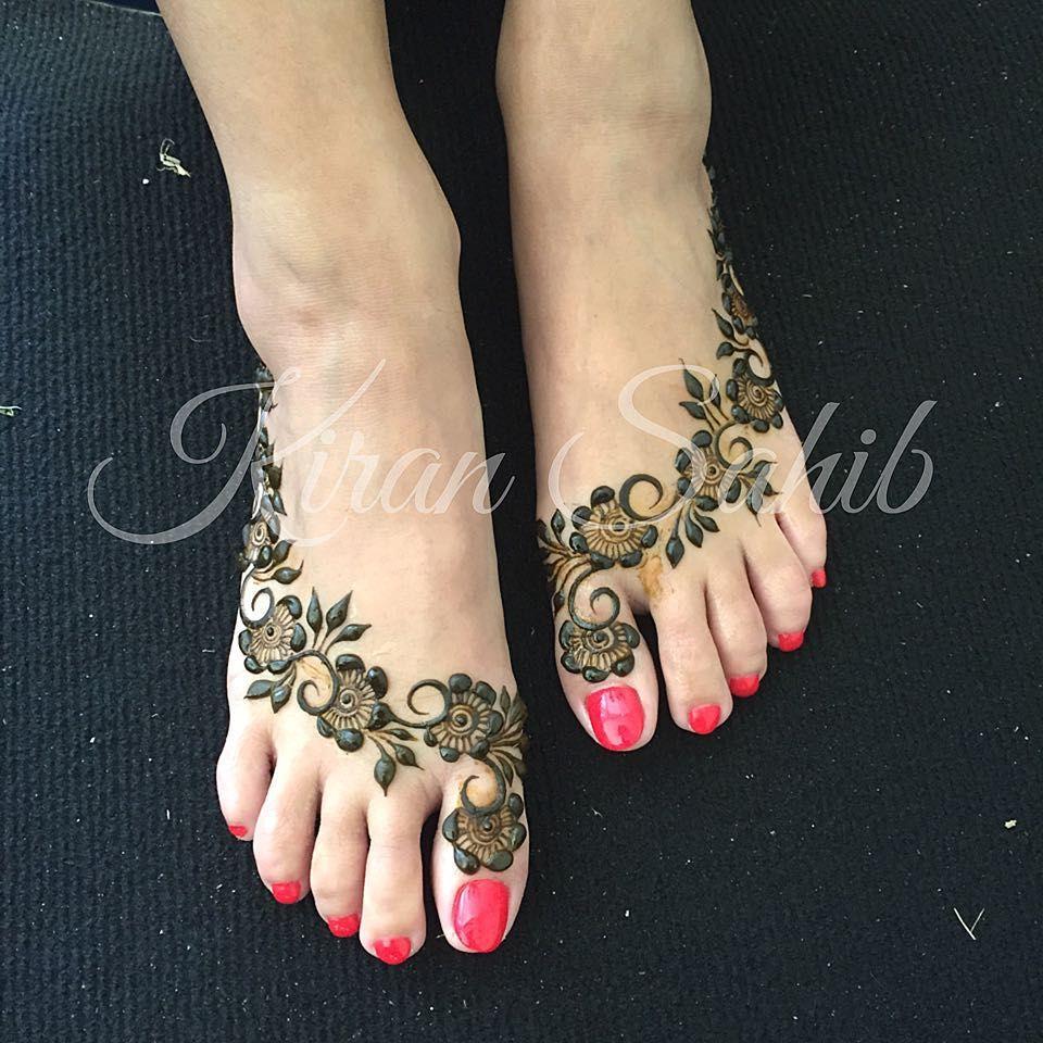 Gulf Inspired Bridal Feet For Reena Henna Henna Mehndi