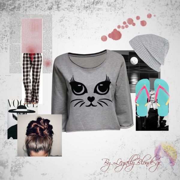 """Lazy Day"" by heyitsmaryam on Polyvore"