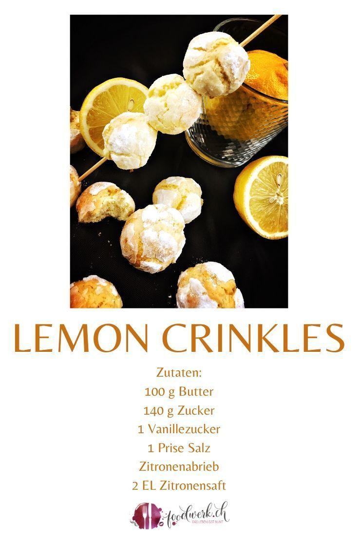 Lemon Crinkels Rezepte Sussigkeiten Geschenk Leckere Backrezepte
