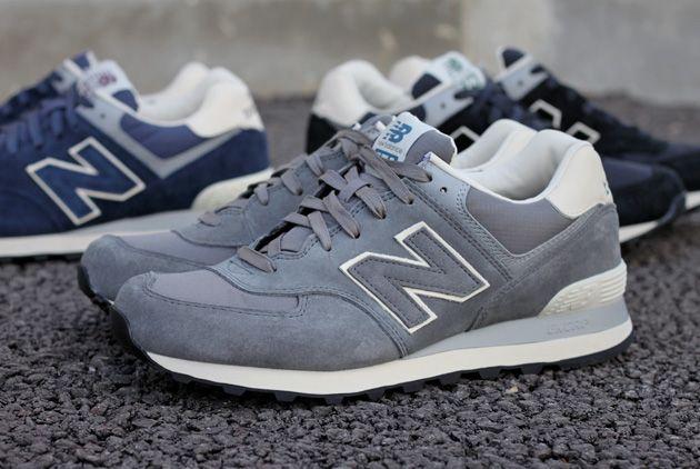 cf7e3dd321e NewBalance 574 Suede Ripstop  sneakers