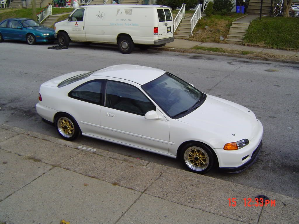 95 Honda Civic Dx Type R White For Sale Or Trade