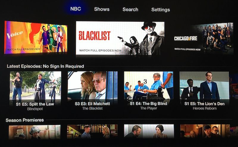 Apple TV Gains CBS All Access, NBC, and Made to Measure