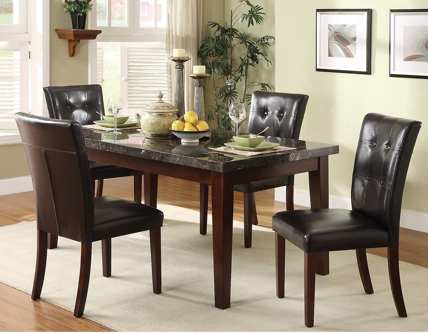 Mahala 5 piece dining package the brick first house pinterest mahala 5 piece dining package the brick dzzzfo