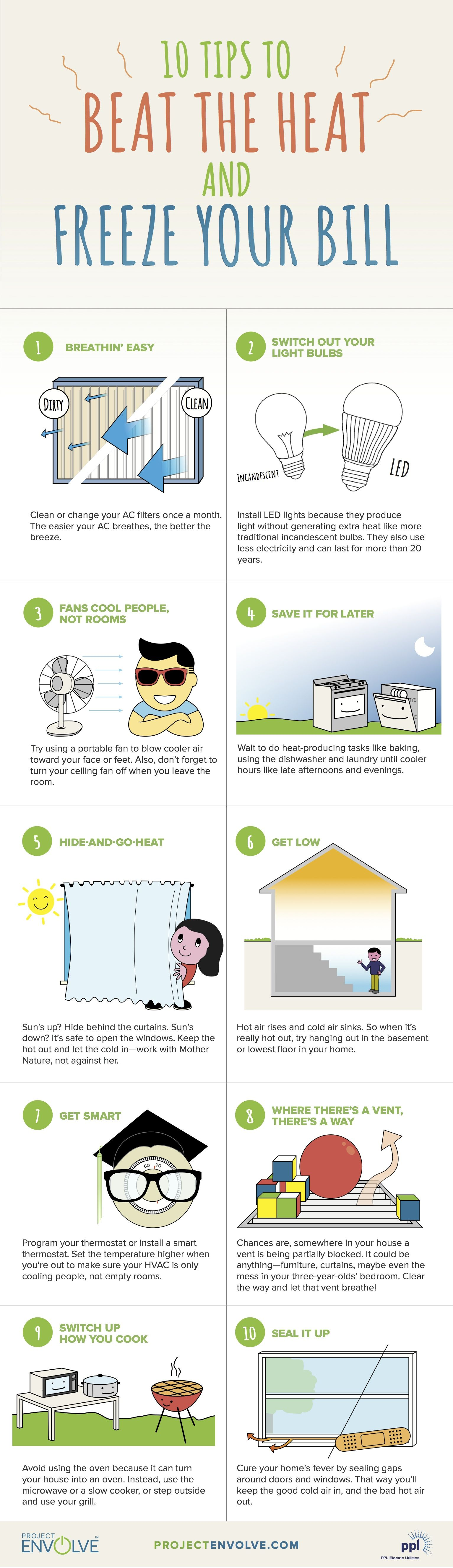 Easy Ways To Beat The Heat And Save Energy Plus A Free