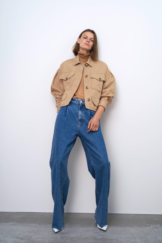Ongekend Jeans zw premium wide leg (con imágenes) | Jeans de tiro alto GD-38