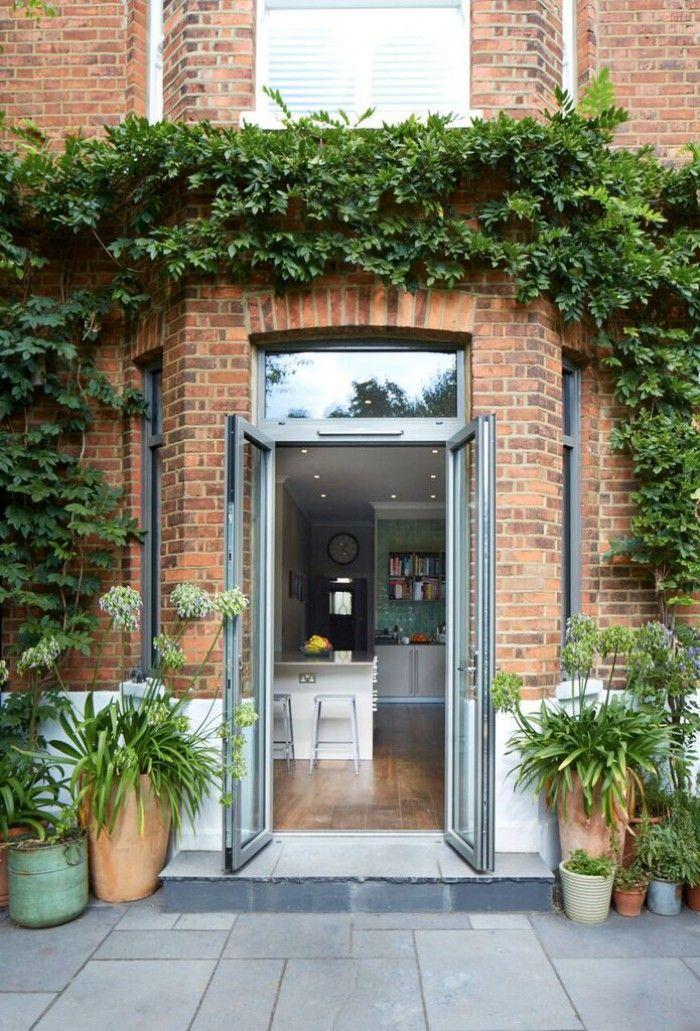 French Doors Aluminium With Fanlight Fully Open French Doors Exterior Aluminium French Doors French Doors