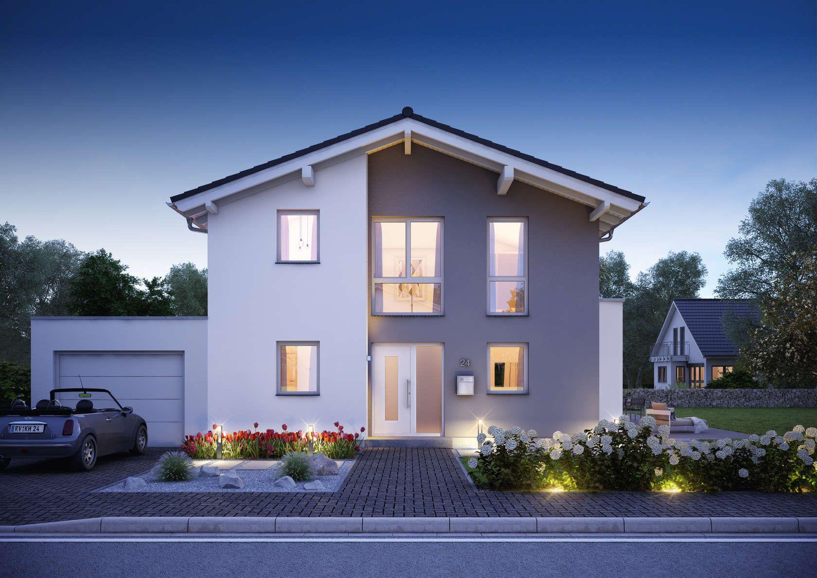 h user house pinterest dachneigung familienhaus und satteldach. Black Bedroom Furniture Sets. Home Design Ideas