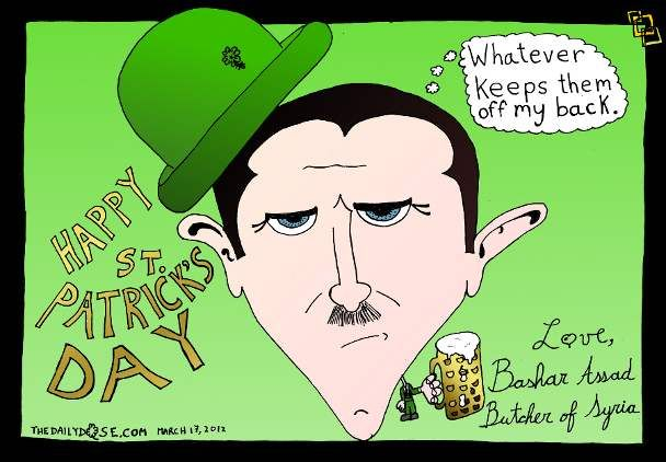 Free Funny St Patricks Day Sayings in irish & English