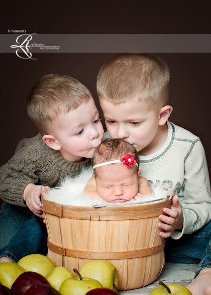 Newborn Photographer | Baby Picture  A Moment's Reflection photography ~ Clinton, Ut.